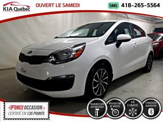 Used 2016 Kia Rio LX+* AT* A/C* GROUPE ELECTRIQUE* BLUETOO for sale in Québec, QC