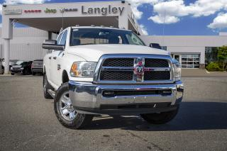 Used 2016 RAM 3500 ST DIESEL / WORK HORSE for sale in Surrey, BC