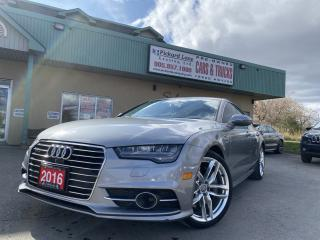 Used 2016 Audi A7 3.0 TDI Technik DIESEL!!NAVI!!REVERSE/FRONT CAM!! LOADED UP!! for sale in Bolton, ON