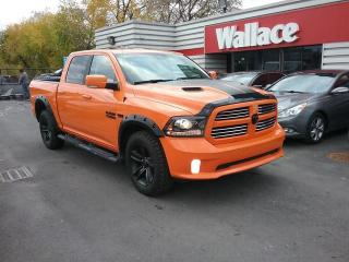 Used 2017 RAM 1500 Sport Crew Cab Ignition Orange for sale in Ottawa, ON