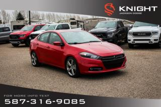 Used 2013 Dodge Dart R/T - NAV, Leather, Sunroof for sale in Medicine Hat, AB