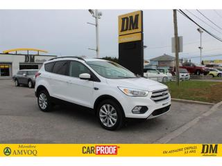 Used 2019 Ford Escape SEL 4WD CUIR TOIT CAMÉRA ANTI-COLLISION ANGLE MORT for sale in Salaberry-de-Valleyfield, QC