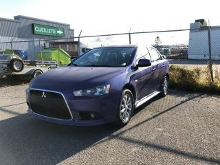 Used 2012 Mitsubishi Lancer GT MANUELLE for sale in Rimouski, QC