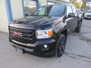 Used 2018 GMC Canyon LIKE NEW SLE EDITION 5 PASSENGER 3.6L - V6.. 4X4.. CREW.. SHORTY.. AUX/USB INPUT.. BLUETOOOTH SYSTEM.. BACK-UP CAMERA.. for sale in Bradford, ON
