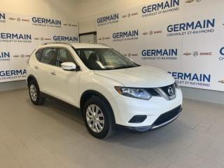 Used 2015 Nissan Rogue AWD S- BAS KM- BLUETOOTH- for sale in St-Raymond, QC