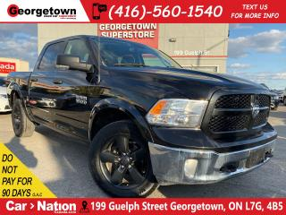 Used 2017 RAM 1500 OUTDOORSMAN | 4X4 | V8 | CREW CAB | 6 PASS | for sale in Georgetown, ON