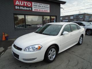 Used 2009 Chevrolet Impala LS for sale in St-Hubert, QC