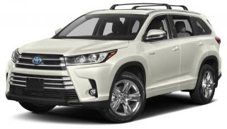 Used 2019 Toyota Highlander Hybrid Limited for sale in Hamilton, ON