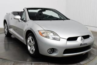Used 2007 Mitsubishi Eclipse GS Spyder Convertible for sale in Île-Perrot, QC