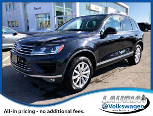 Used 2016 Volkswagen Touareg 3.6L V6 Highline AWD - Navigation / Loaded! for sale in PORT HOPE, ON