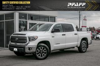 Used 2018 Toyota Tundra 4x4 CrewMax SR5 Plus 5.7 6A for sale in Orangeville, ON