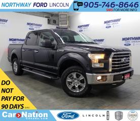 Used 2016 Ford F-150 XLT | 3.5L V6 | BACKUP CAM | TONNEAU COVER | XTR | for sale in Brantford, ON