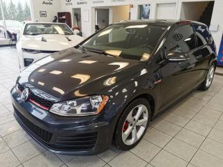 Used 2015 Volkswagen Golf GTI MANUEL/MAG /CRUISE /SIEGE CHAUFFANT for sale in Sherbrooke, QC