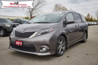 Used 2015 Toyota Sienna SE 8 Passenger for sale in Hamilton, ON