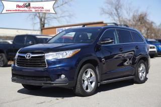 Used 2016 Toyota Highlander Limited Low Kilometres, Off Lease! for sale in Hamilton, ON