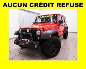 Used 2017 Jeep Wrangler WILLYS WHEELER 4X4 MAGS NOIR GR.REMORQ *BAS KM* for sale in Mirabel, QC