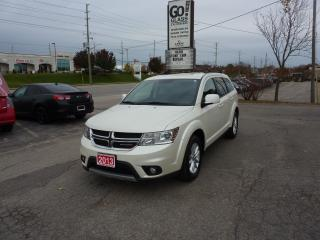 Used 2013 Dodge Journey SXT, with remote starter for sale in Kitchener, ON