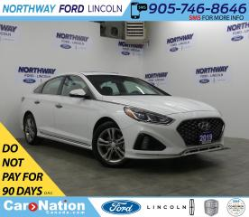 Used 2019 Hyundai Sonata Essential | SPORT | SUNROOF | LEATHER | REAR CAM for sale in Brantford, ON