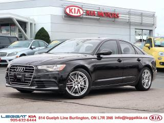 Used 2012 Audi A6 PREMIUM 3.0L V6 SUPERCHARGED - SUNROOF, NAV for sale in Burlington, ON