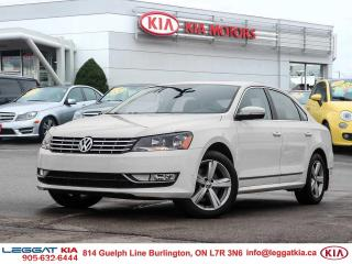 Used 2013 Volkswagen Passat 2.0 TDI Comfortline TDI Comfortline | DIESEL | LTHR | SUNROOF | XMSAT | for sale in Burlington, ON