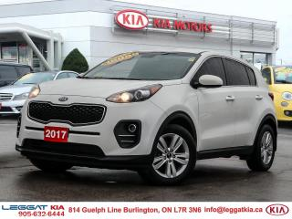 Used 2017 Kia Sportage ***ONE OWNER,CLEAN CARFAX, BOUGHT AND SERVICED AT LEGGAT KIA*** for sale in Burlington, ON