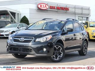 Used 2015 Subaru XV Crosstrek Sport Package SPORT PACKAGE, HTD SEATS, SUNROOF, AWD, AIR CONDITIONING, MANUAL for sale in Burlington, ON