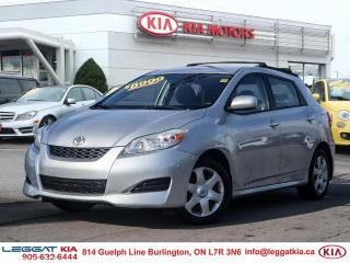 Used 2009 Toyota Matrix NO ACCIDENTS, LOW KM, A/C, KEYLESS ENTRY, CRUISE for sale in Burlington, ON