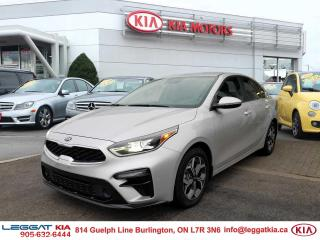 Used 2019 Kia Forte APPLE CAR PLAY/ANDROID AUTO, BLIND SPOT DETECT, LANE KEEP ASSIST for sale in Burlington, ON