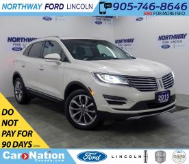 Used 2015 Lincoln MKC Select | AWD | NAV | HTD/AC LEATHER | PANOROOF | for sale in Brantford, ON