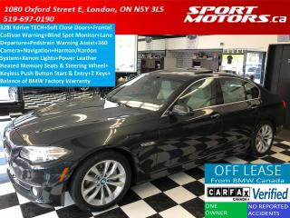 Used 2016 BMW 5 Series 528i xDrive Tech+Adaptive Cruise+Blind Spot+HUD for sale in London, ON