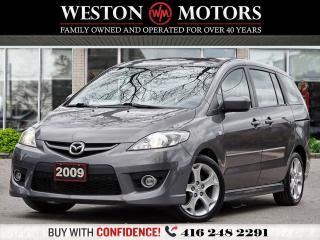 Used 2009 Mazda MAZDA5 7PASS*LEATHER*NAVI*SUNROOF!!*CERTIFIED!!!* for sale in Toronto, ON
