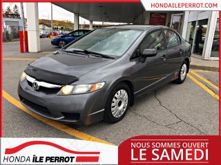 Used 2009 Honda Civic WOW IMPECCABLE , TRES PROPRE A VOIR ! for sale in Île-Perrot, QC