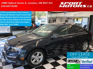 Used 2015 Chevrolet Cruze LT RS+Sunroof+Camera+Remote Start+Bluetooth+A/C for sale in London, ON
