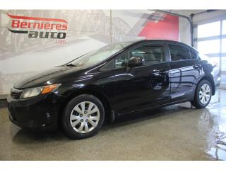 Used 2012 Honda Civic LX for sale in Lévis, QC