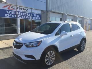 Used 2018 Buick Encore PREFERRED AUTO SIEGES CUIR/TISSUE COMME NEUVE for sale in St-Hubert, QC