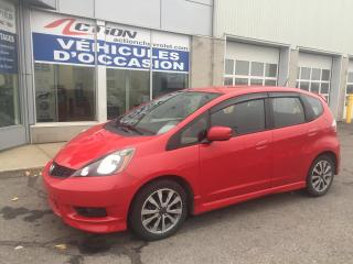 Used 2014 Honda Fit SPORT A/C MAG GR.ÉLECT. ET PLUS for sale in St-Hubert, QC