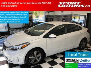 Used 2018 Kia Forte LX+Apple Play+Camera+Bluetooth+Rust Proofed for sale in London, ON