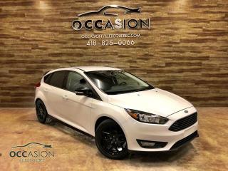 Used 2015 Ford Focus Hayon 5 portes SE BLACK EDITION for sale in Ste-Brigitte-de-Laval, QC