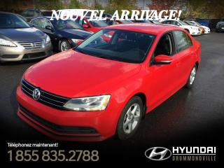 Used 2016 Volkswagen Jetta TRENDLINE PLUS + CAMERA + GARANTIE !! for sale in Drummondville, QC
