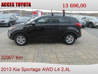 Used 2013 Kia Sportage 32000KM for sale in Rouyn-Noranda, QC