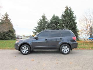 Used 2011 Subaru Forester 2.5X CONVÉNIENCE AWD for sale in Thornton, ON
