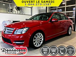 Used 2012 Mercedes-Benz C-Class C300 4 MATIC *GPS, TOIT PANO* for sale in Donnacona, QC