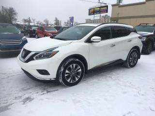 Used 2018 Nissan Murano SV à vendre AWD Toit Pano Nav Démarreur for sale in Laval, QC