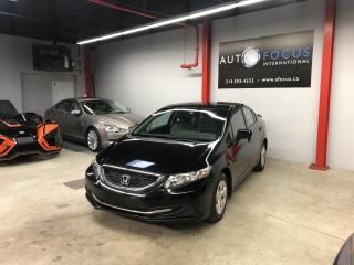 Used 2015 Honda Civic LX, MANUELLE, CAMÉRA DE RECUL. A/C, BT, for sale in Montréal, QC