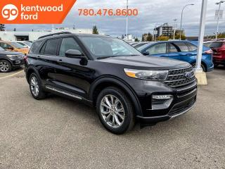 New 2020 Ford Explorer XLT 202A, 4WD, 2.3L Ecoboost, Power Seats, Heated Steering Wheel, Lane Keeping System, Remote Keyless Entry, Reverse Camera/Sensing System, Cruise Control, Twin Panel Moonroof, Adaptive Cruise Control for sale in Edmonton, AB
