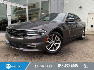 Used 2015 Dodge Charger SXT RWD SUNROOF NAV B/U CAM for sale in Edmonton, AB