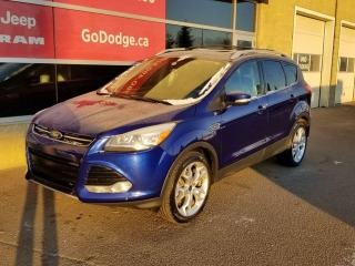 Used 2015 Ford Escape Titanium 4WD / Sunroof / GPS Navigation for sale in Edmonton, AB