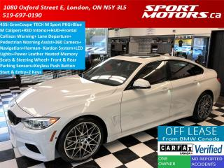 Used 2015 BMW 4 Series 435i GranCoupe TECH M Sport PKG+LED+Blind Spot+HUD for sale in London, ON