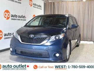 Used 2012 Toyota Sienna Se, 3.5L V6, Fwd, Third row 7 passenger seating, Leather seats, Backup camera, Sunroof for sale in Edmonton, AB
