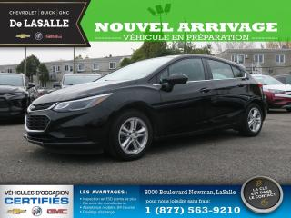 Used 2018 Chevrolet Cruze LT 5 PORTES AUTOMATIQUE LT 5 PORTES AUTOMATIQUE for sale in Lasalle, QC